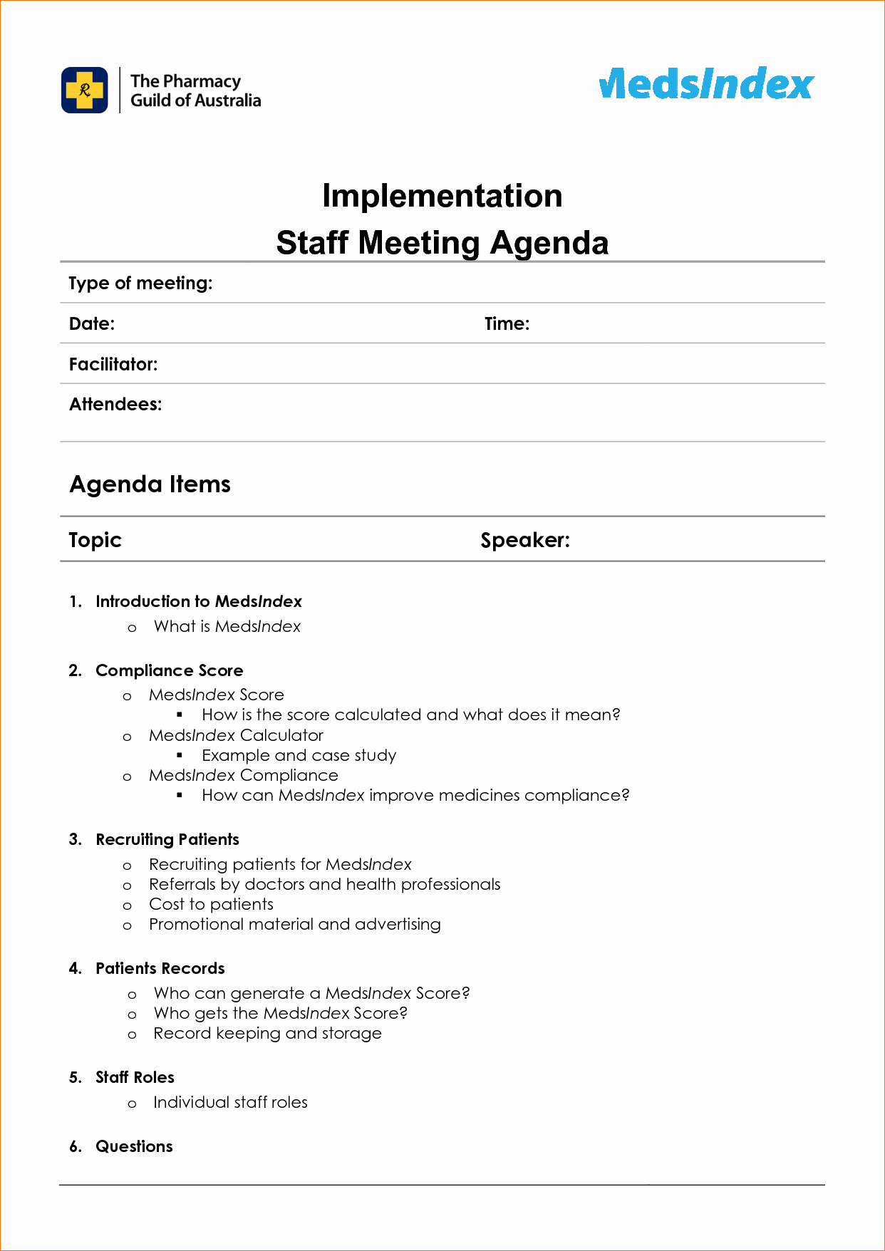 Staff Meeting Agenda Template Elegant Staff Meeting Minutes Template Bing Images