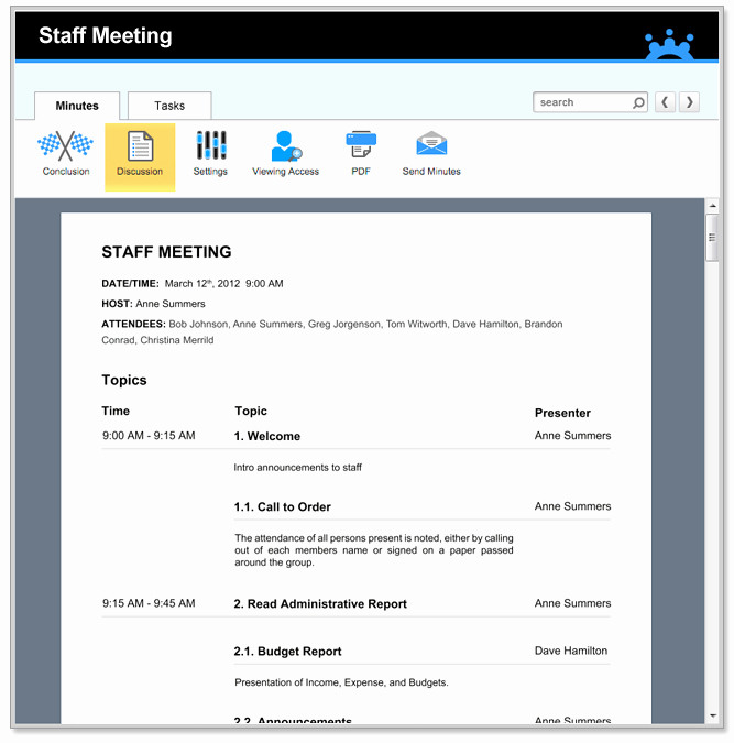 Staff Meeting Agenda Template Inspirational Staff Meeting Agenda Templates