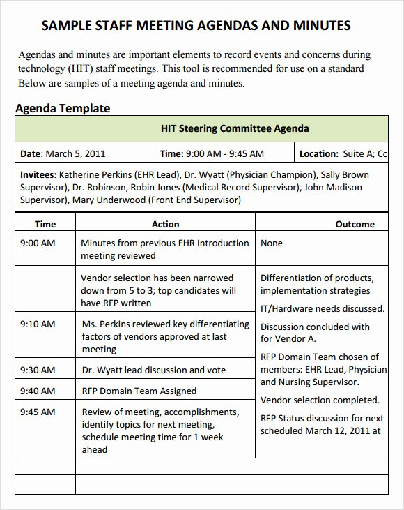 Staff Meetings Agenda Template Fresh Board Meeting Agenda 14 Download Free Documents In Pdf