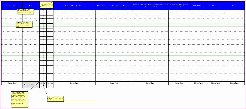 Stakeholder Analysis Template Excel Luxury 10 Stakeholder Analysis Template Excel Exceltemplates