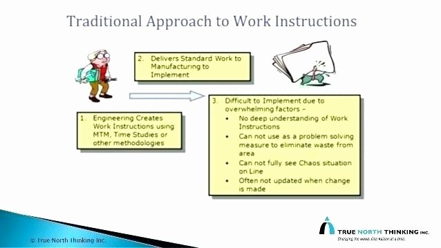 Standard Work Instructions Template Luxury Standard Work Instructions Excel Template 9 Instruction