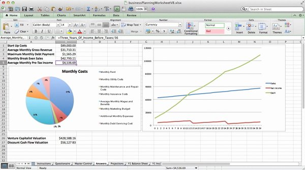 Startup Business Plan Template Excel Best Of Business Plan Template Excel