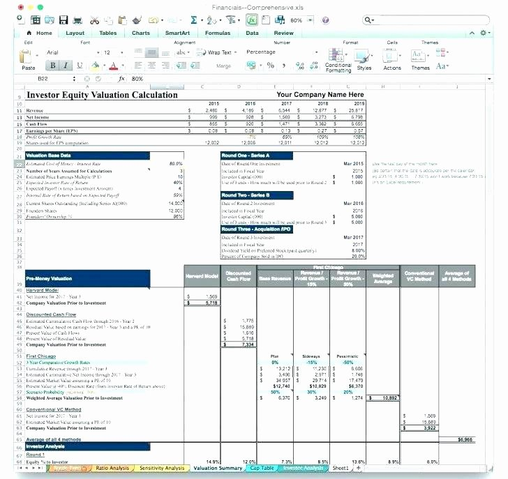 Startup Business Plan Template Excel Fresh Business Plan Sample Hotel Startup Template Free Excel
