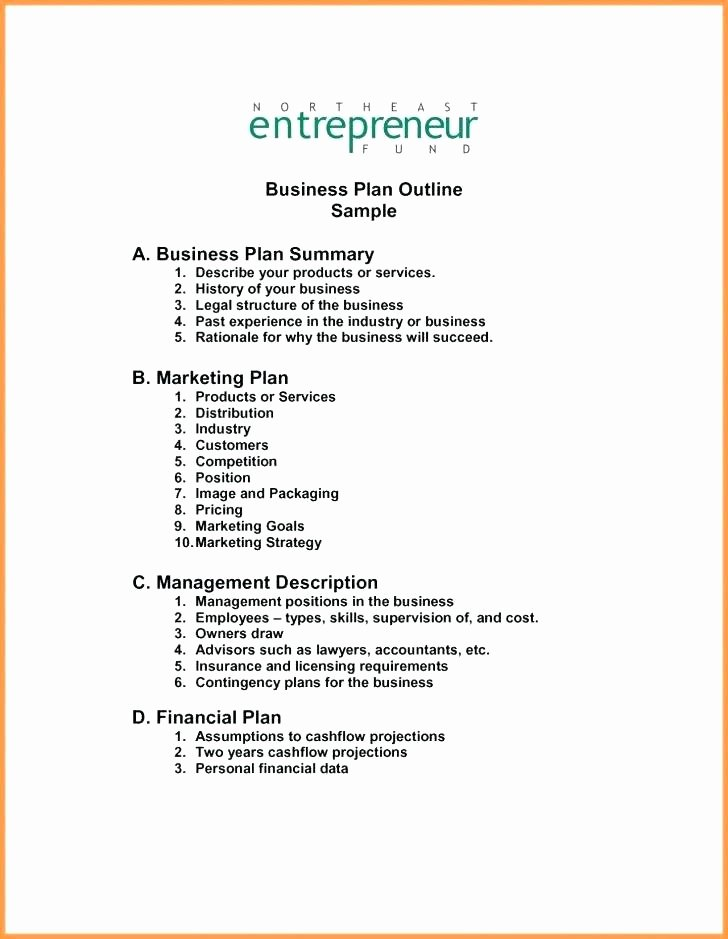 Startup Business Plan Template Excel Luxury How to Make Projections for A Business Plan – Blogopoly