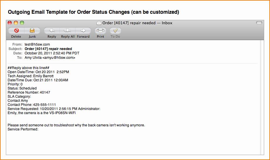 Status Update Email Template Elegant 6 Status Update Template