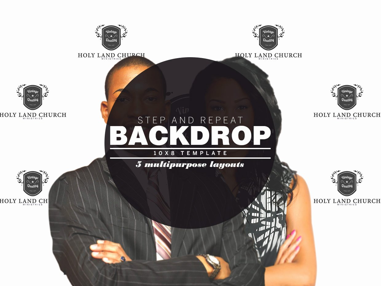 Step and Repeat Template Beautiful Step and Repeat Backdrop Template Templates On Creative