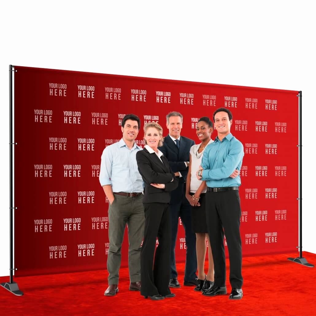 Step and Repeat Template Luxury 8 X 12 Step and Repeat Backdrop for Your Red Carpet