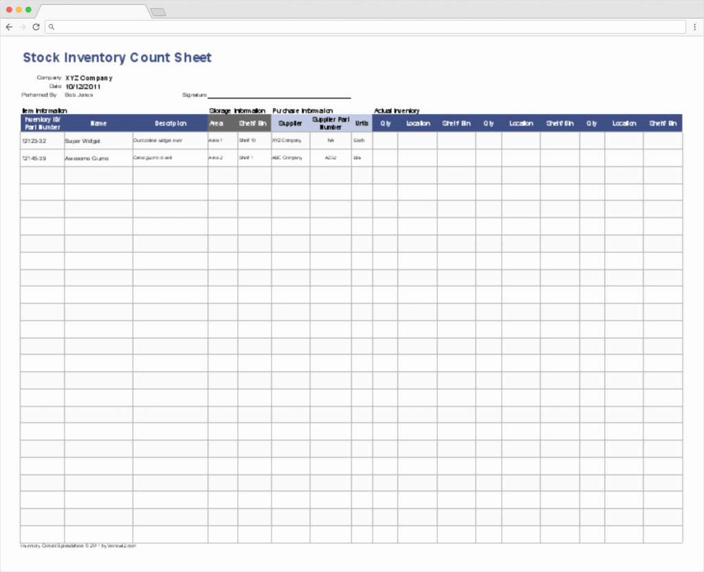 Stock Inventory Excel Template Awesome top 10 Inventory Tracking Excel Templates · Blog Sheetgo