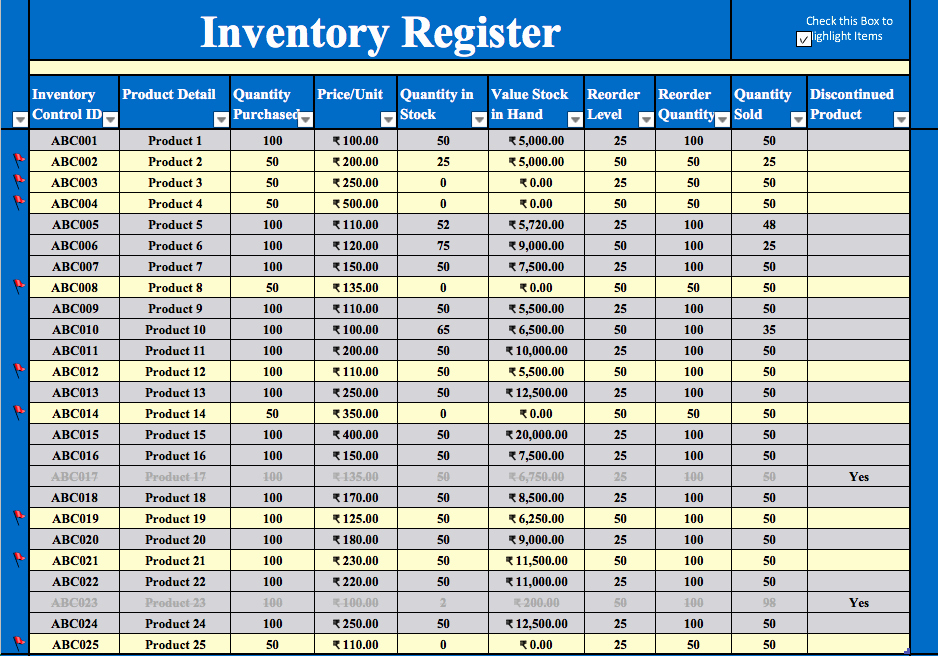 Stock Inventory Excel Template Luxury Inventory Management Excel Template Free Download