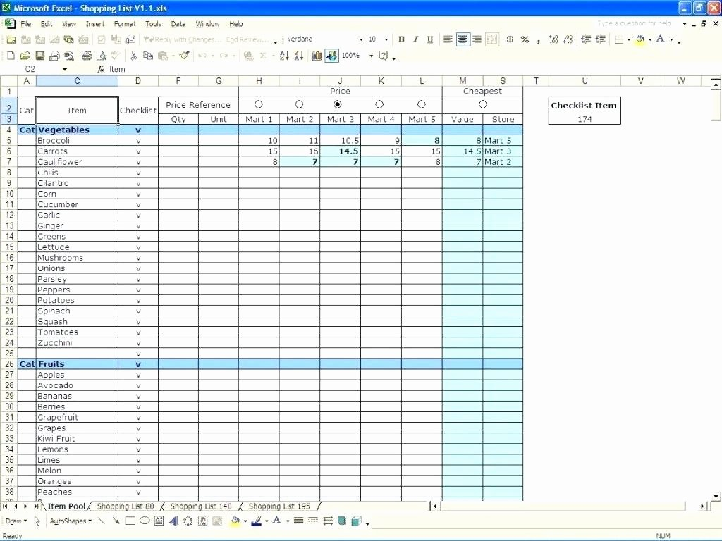 Stock Inventory Excel Template Unique Stocktake Report Template