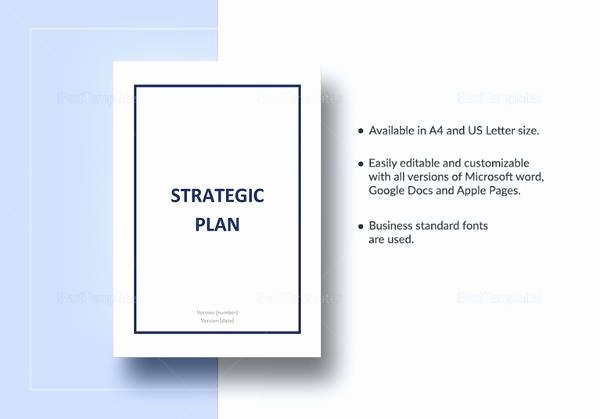 Strategic Account Planning Template Awesome 14 Strategic Plan Templates – Pdf Word