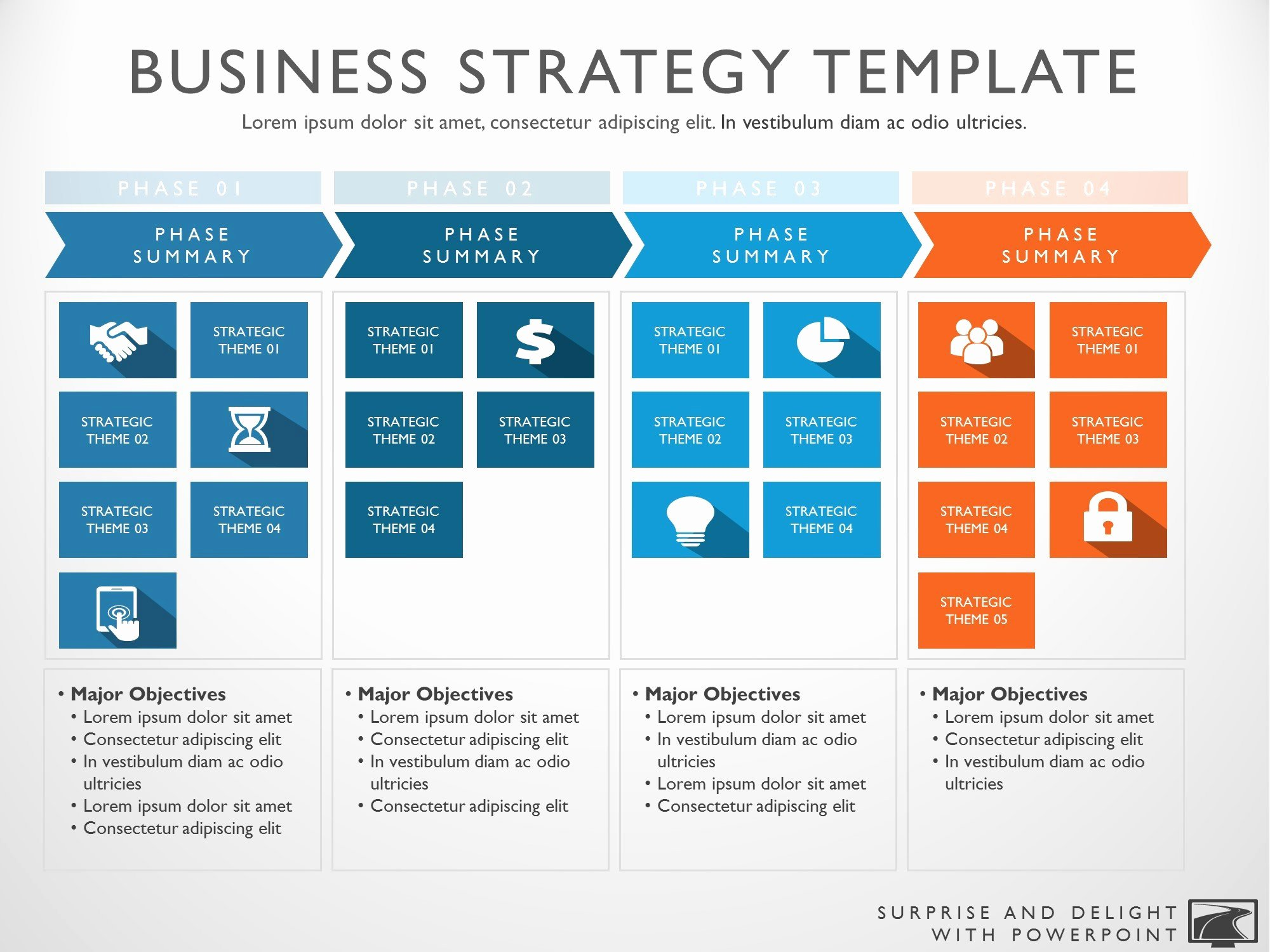 Strategic Business Plan Template Lovely Business Strategy Template