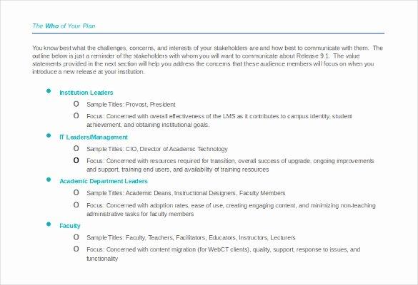 Strategic Communication Plan Template Beautiful 10 Munication Strategy Templates Free Word Pdf