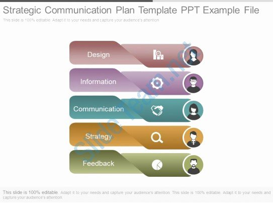 Strategic Communication Plan Template Beautiful Strategic Munication Plan Template Ppt Example File