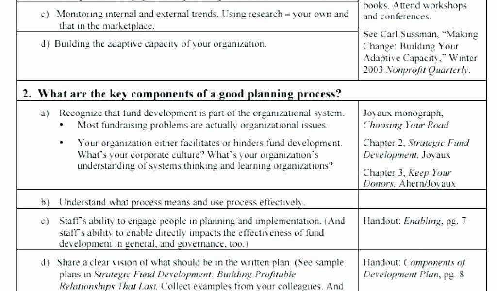 Strategic Planning for Nonprofits Template Best Of Application Development Strategy Template Strategic Plan