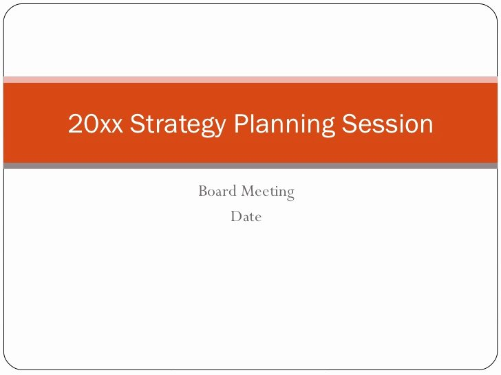 Strategic Planning for Nonprofits Template Best Of Strategic Planning Template Non Profit Free software and