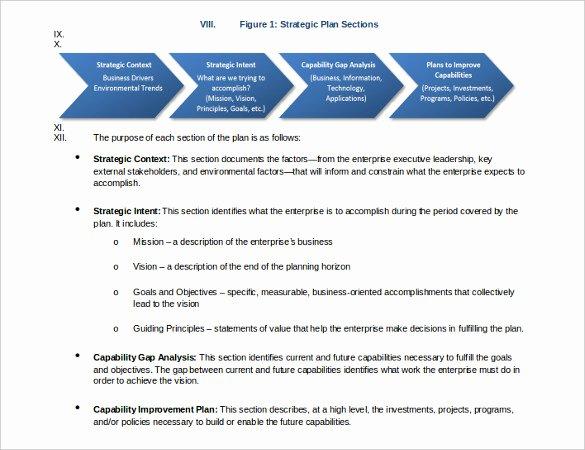 Strategic Planning for Nonprofits Template Inspirational 22 Strategic Plan Templates Free Word Pdf format