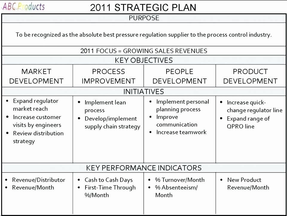 Strategic Planning for Nonprofits Template New Strategic Plan Example Template Business Nonprofit