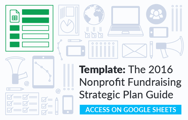 Strategic Planning Nonprofit Template Lovely the Nonprofit Fundraising Strategic Plan Guide