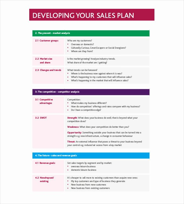 Strategic Sales Plan Template Beautiful Strategy Template – 19 Free Word Excel Pdf Document