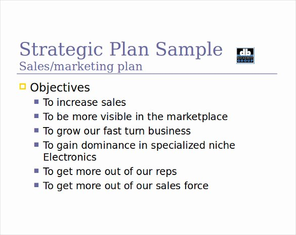 Strategic Sales Plan Template Lovely 12 Sales Strategy Templates Doc Pdf