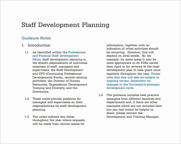 Strategic Staffing Plan Template Elegant 12 Staffing Plan Templates – Free Sample Example format