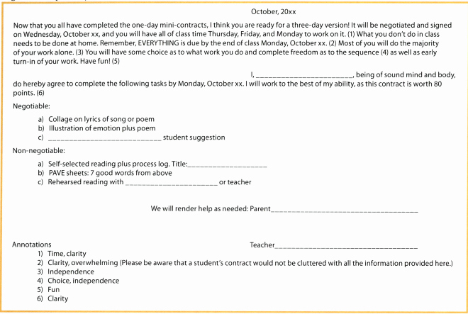 Student Academic Contract Template Luxury Student Contracts