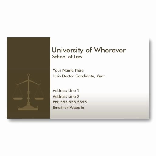 Student Business Card Template Beautiful 19 Best Gifts for Law Students Images On Pinterest