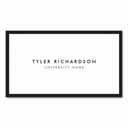 Student Business Card Template Inspirational Best 21 Business Cards for College and University Students