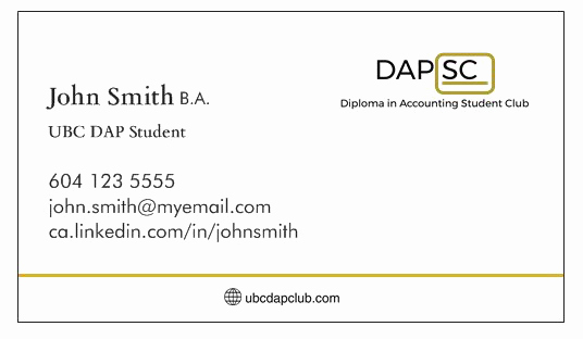 Student Business Cards Template Beautiful Accounting Student Business Card thelayerfund