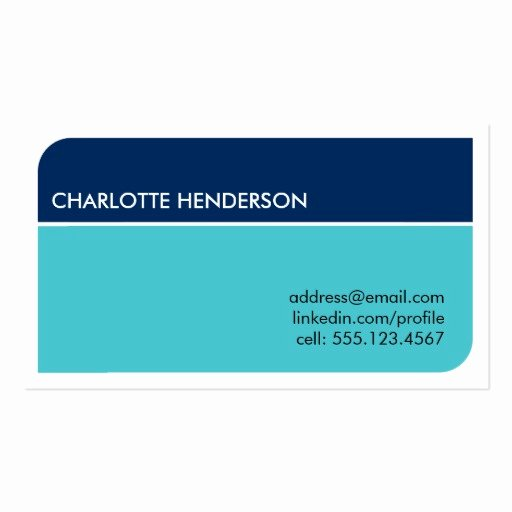 Student Business Cards Template Elegant Navy Blue Smart Student Employment Resume Card