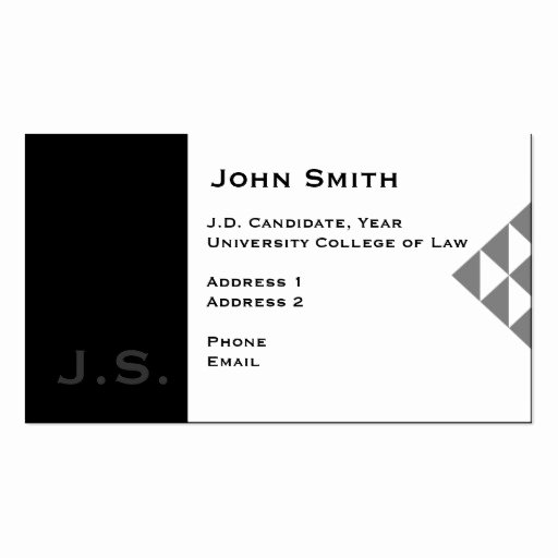 Student Business Cards Template Unique Graduate School Business Card Templates