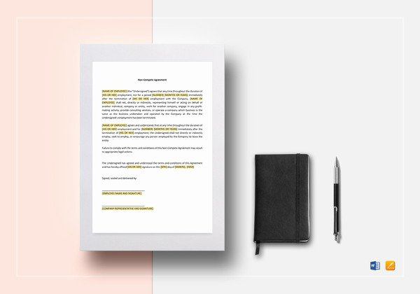 Subcontractor Non Compete Agreement Template Beautiful 14 Subcontractor Agreement Templates – Free Sample
