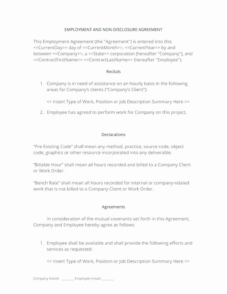 Subcontractor Non Compete Agreement Template Best Of Non Pete Document – Onbo Tenan