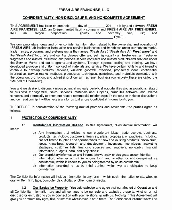 Subcontractor Non Compete Agreement Template Fresh Employee Non Pete Agreement Template Clause Sample Non