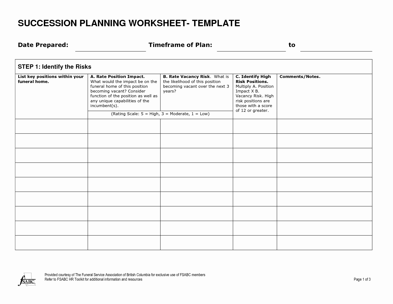 Succession Planning Template Excel Elegant 7 Best Of Bud Meal Planning Worksheet
