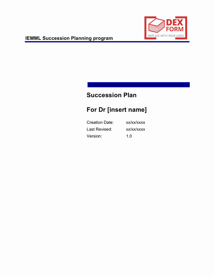 Succession Planning Template Excel Lovely Succession Planning Template Free Documents for