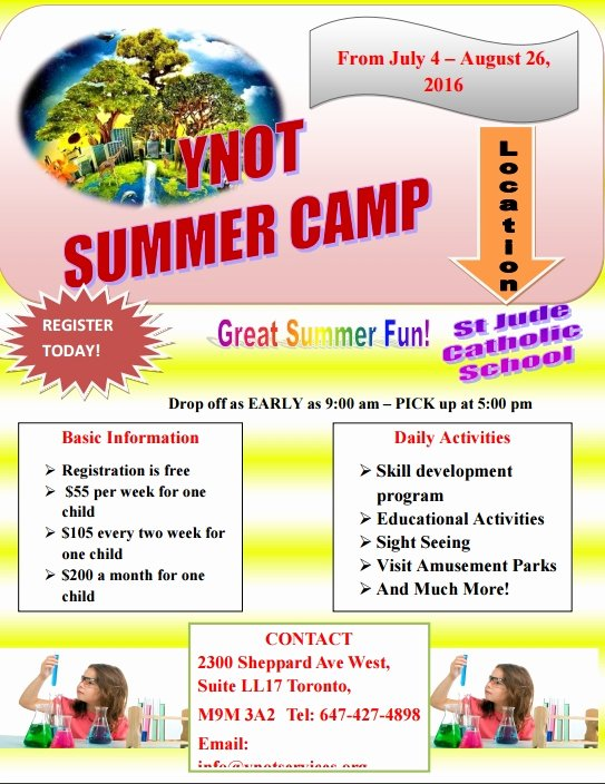 Summer Camp Daily Schedule Template Inspirational Summer Camp Daily Schedule Template Baskanai