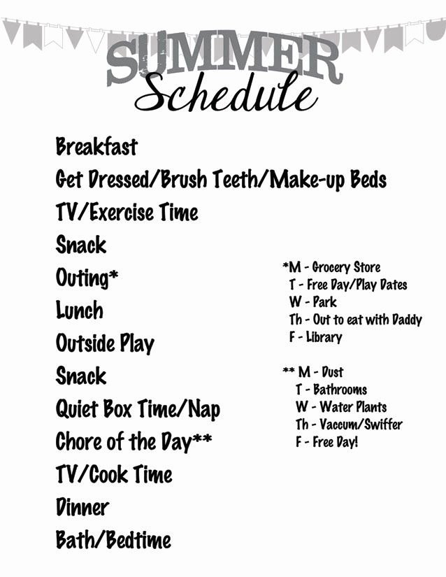 Summer Camp Daily Schedule Template Luxury 100 Ideas to Try About Screen Time Chore Chart