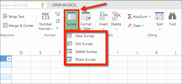 Survey Results Excel Template Beautiful How to Collect Data with An Excel Survey & Fice 365