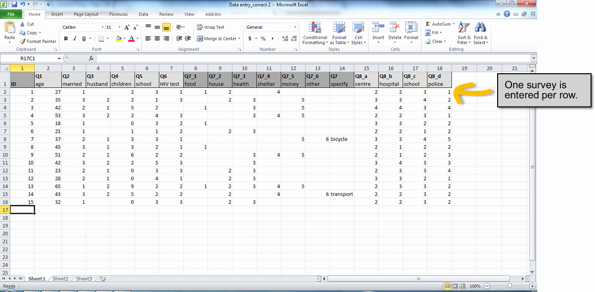 Survey Results Excel Template Fresh How to Set Up An Excel Spreadsheet for Survey Results