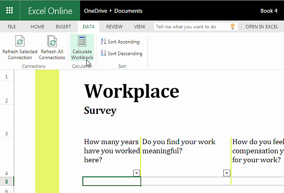 Survey Results Excel Template Inspirational Free Excel Template for Conducting Workplace Surveys