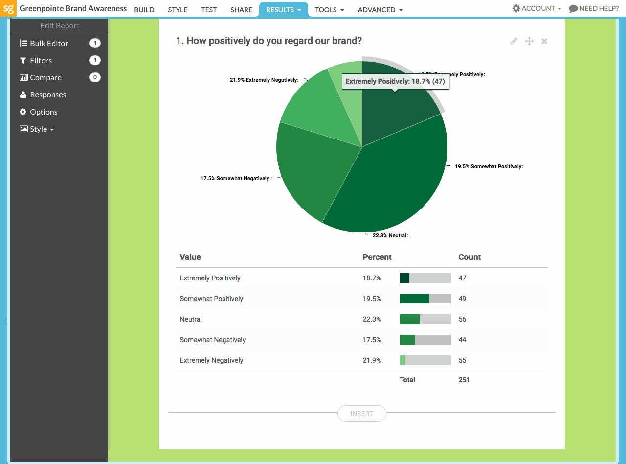 Survey Results Report Template Elegant Surveygizmo the Best Survey tool at the Best Price