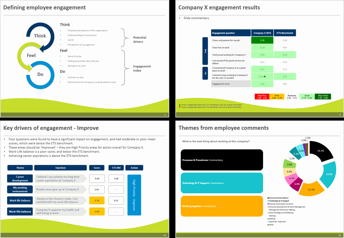 Survey Results Report Template Inspirational Report Executive Level Reportingrvey Results Template