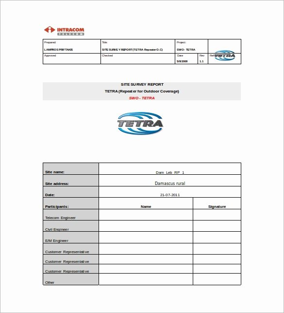 Survey Results Report Template New 11 Survey Report Templates Download for Free