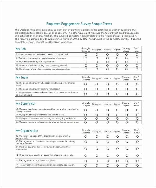 Survey Results Report Template Unique Template Survey Results Template Capable Employee Report