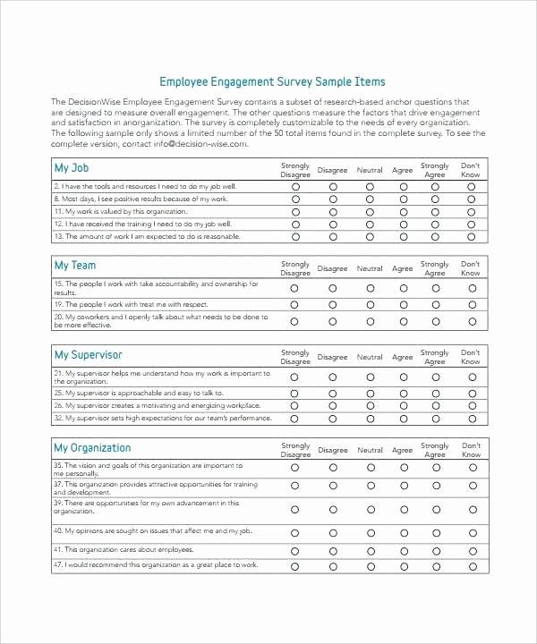 Survey Results Report Template Unique Template Survey Results Template Capable Employee Report