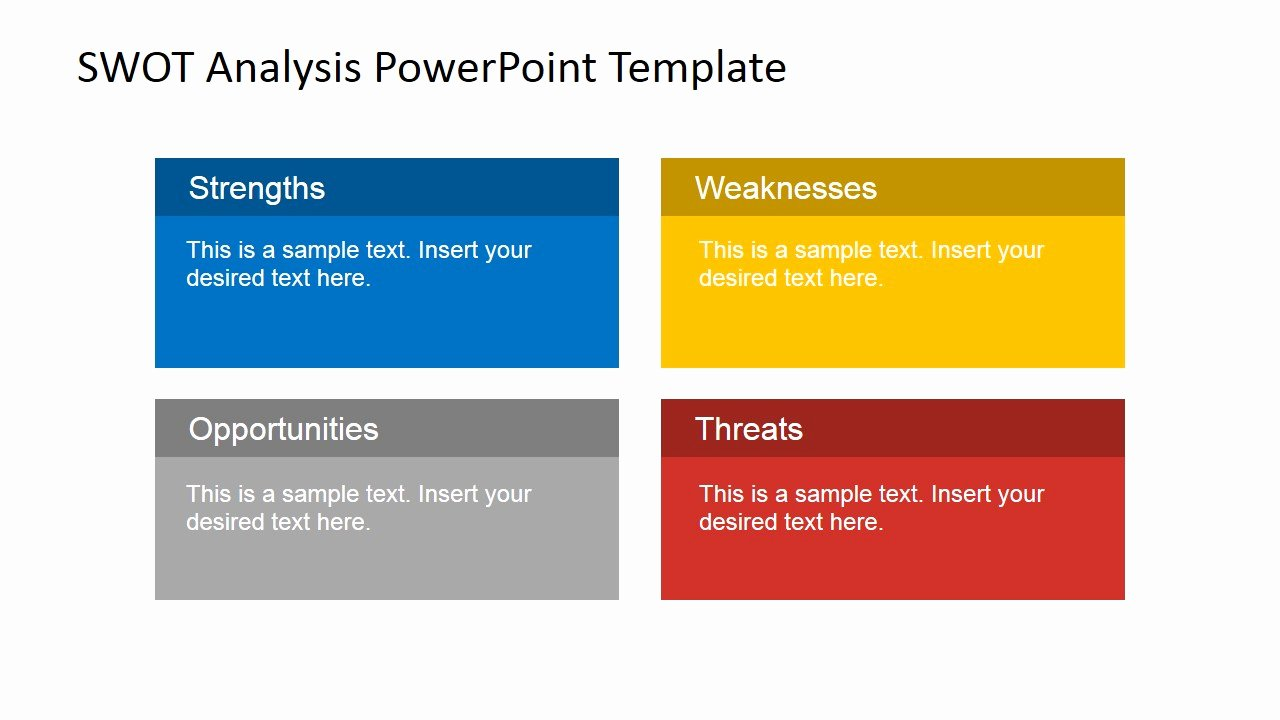 Swot Analysis Template Doc Awesome Animated Swot Analysis Powerpoint Template Slidemodel