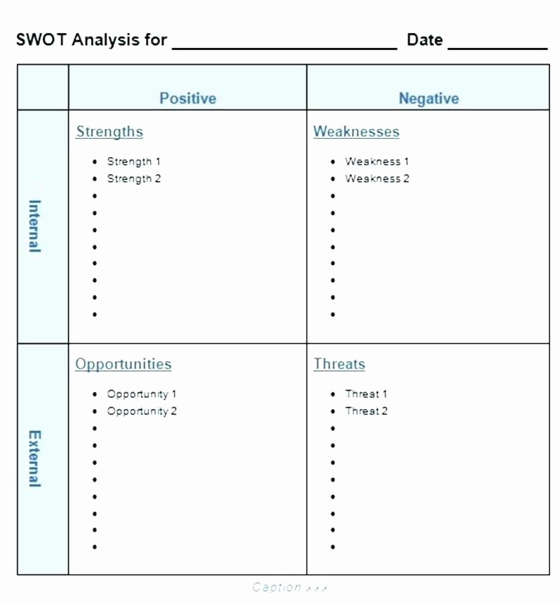 Swot Analysis Template Doc Unique Blank Swot Template – Voipersracing