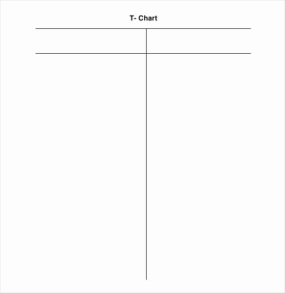 T Chart Template Pdf Awesome 16 T Chart Templates Doc Pdf